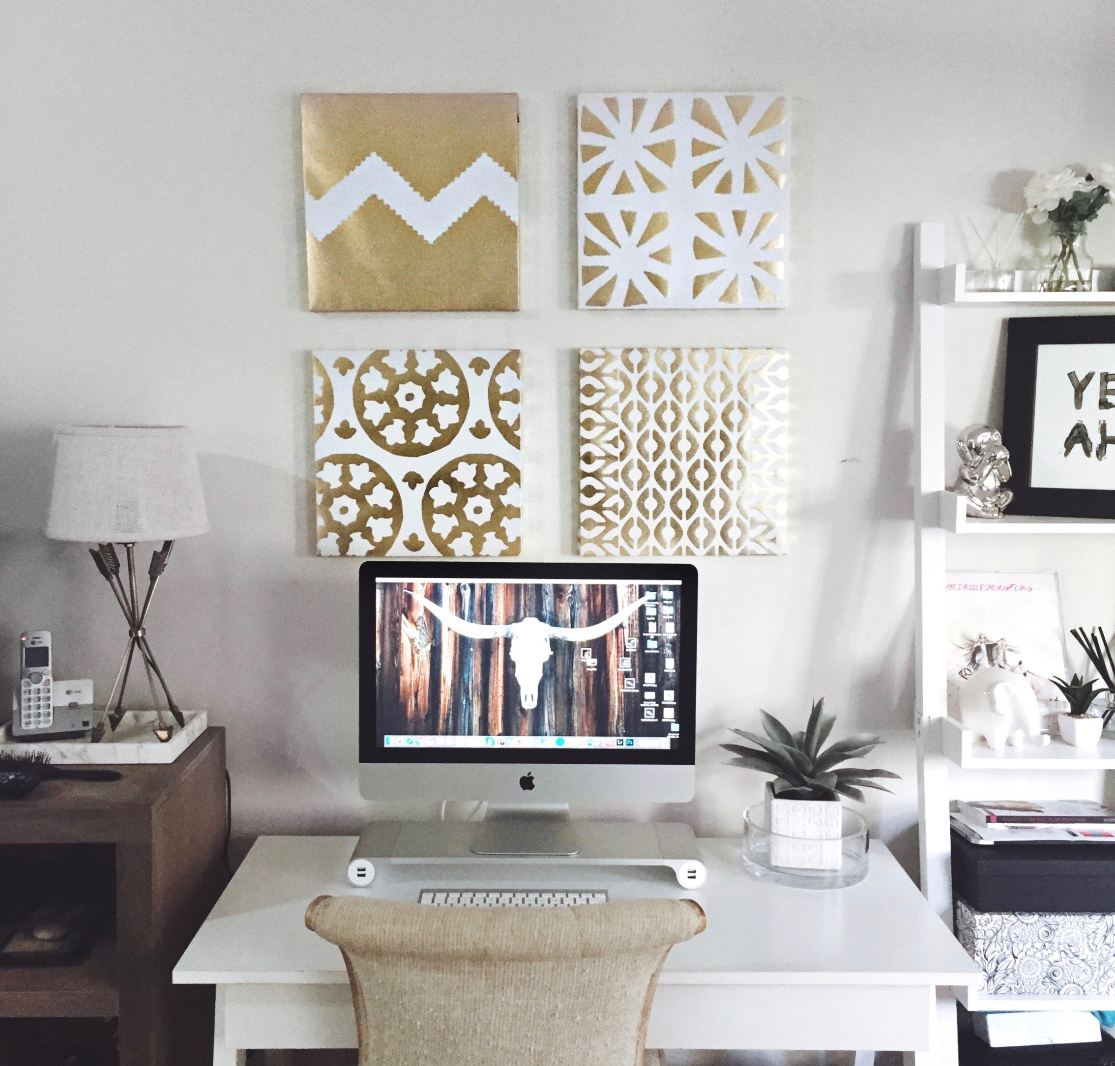 Gold Standard Wall Art To Be Bright