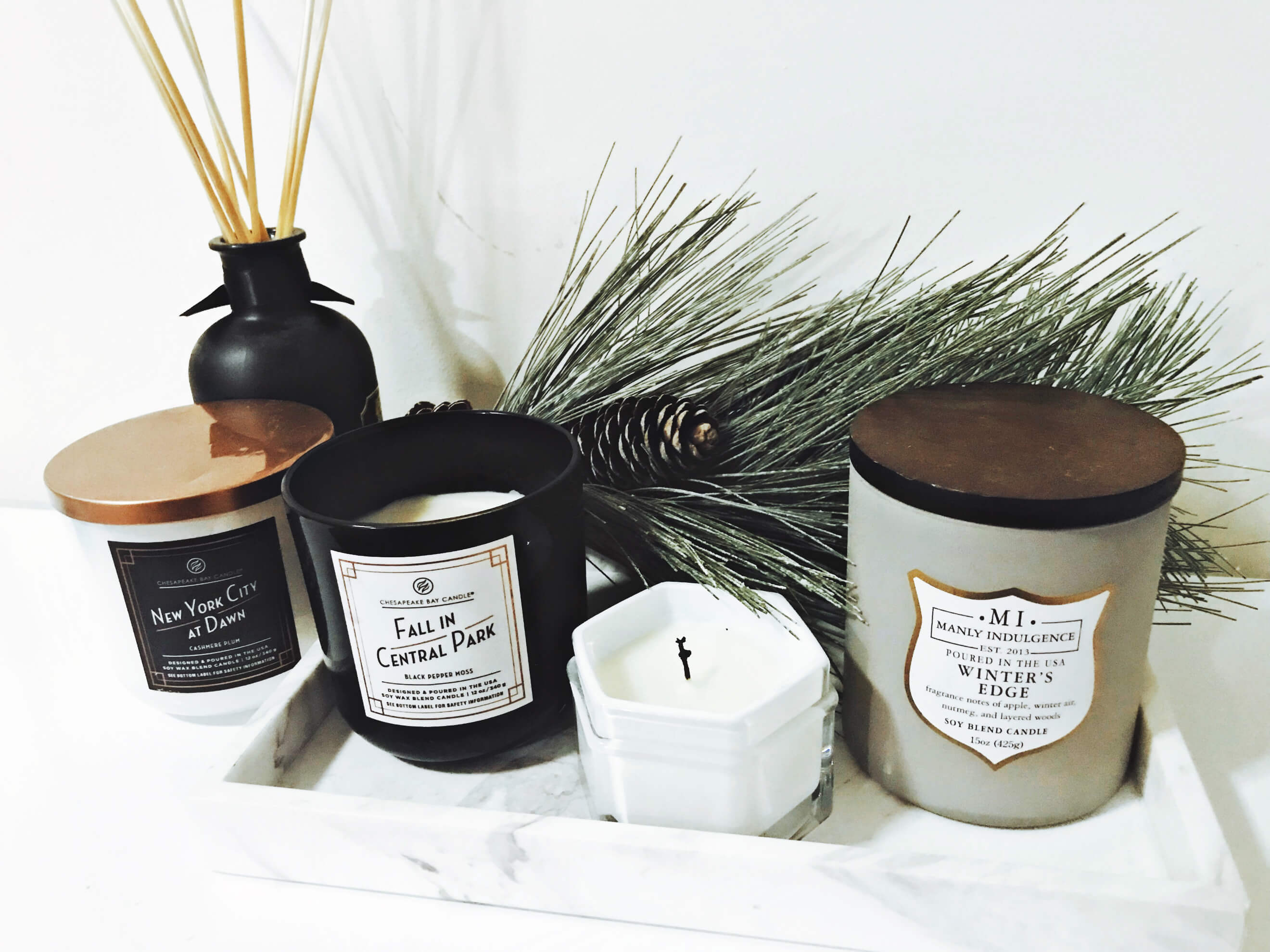 Warm and Woodsy Scented Candles, Tilden of To Be Bright