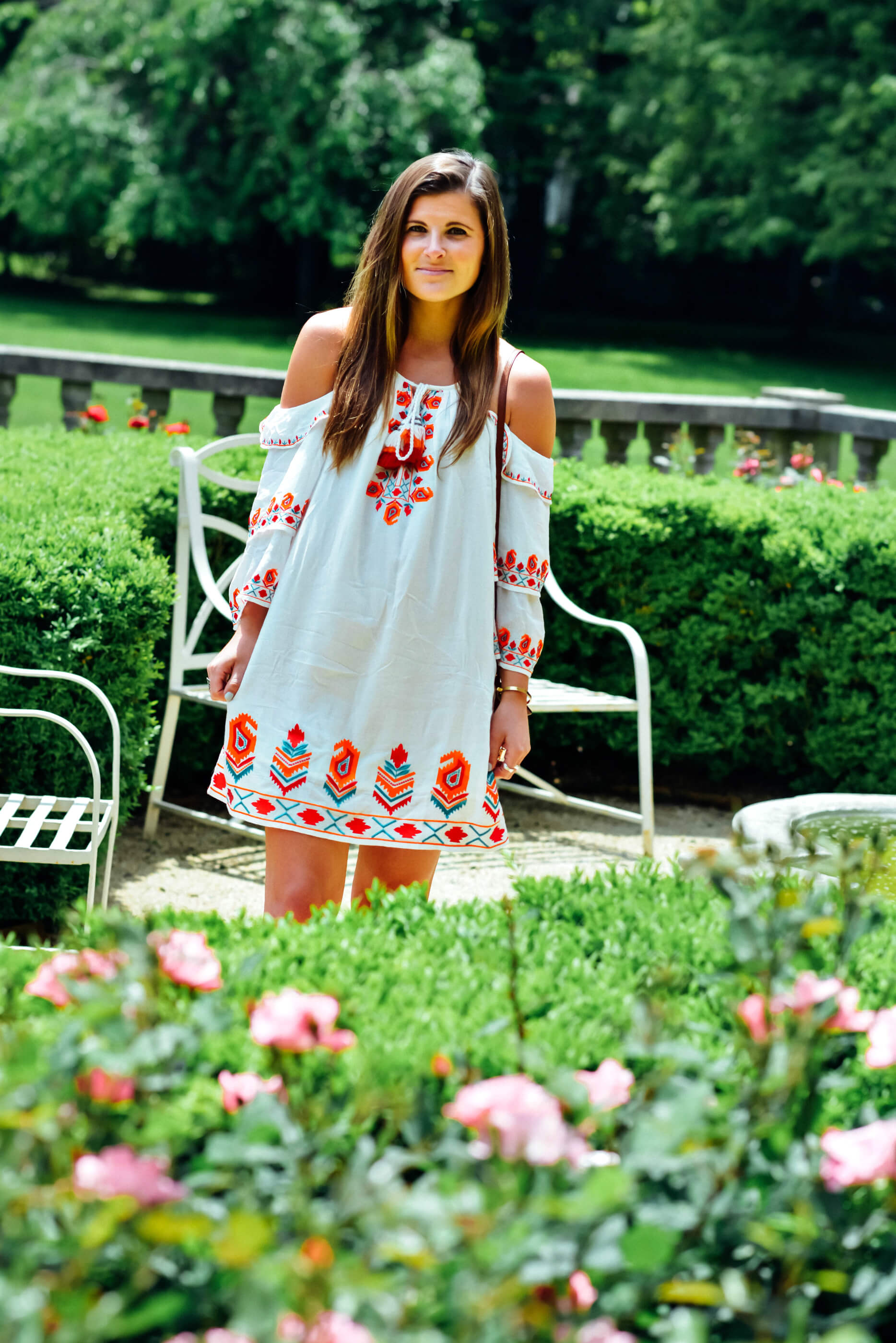 Tolani Embroidered Dress, Rose Garden, Summer Style, Tilden of To Be Bright