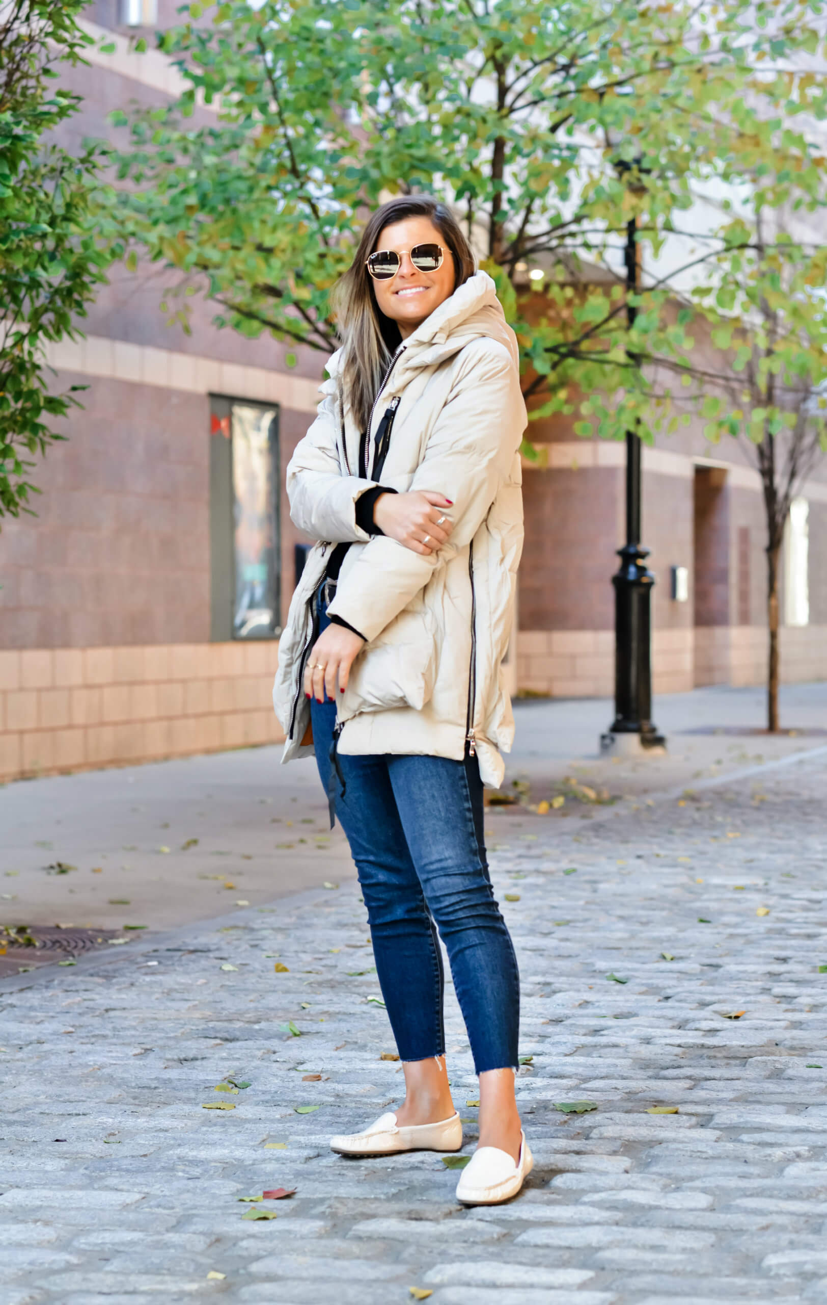 Orolay Thickened Down Jacket in Beige, Amazon Upper East Side Mom Coat, Winter Style, Tilden of To Be Bright