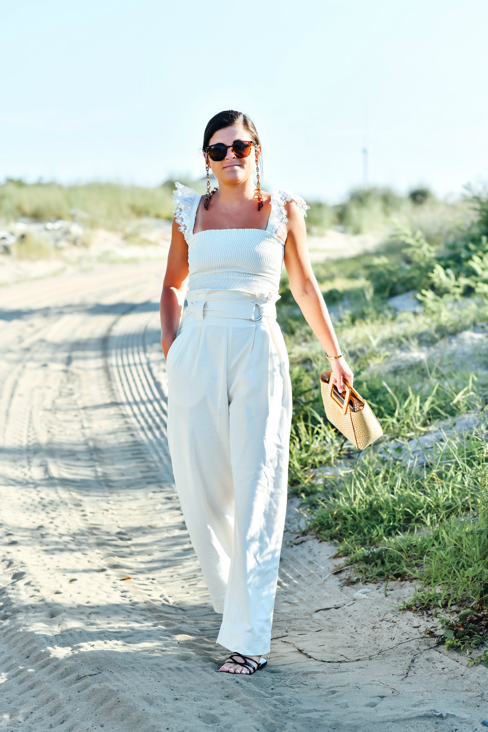 Beach Whites, Summer White Outfit, All White Outfit, Tilden of To Be Bright