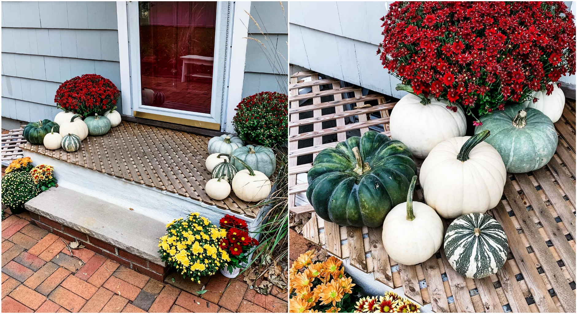 Home Improvement, Fall October Front Step Decoration, Front Steps Decor, Tilden of To Be Bright